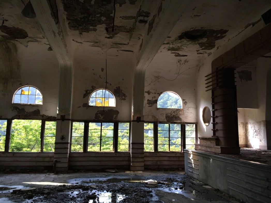 Interior of the Maya Hotel in Kobe, Japan