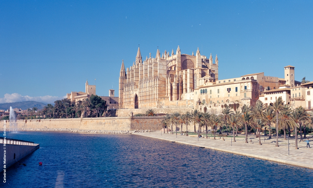 One of Mallorca's top attractions is the Cathedral of Santa Maria of Palma