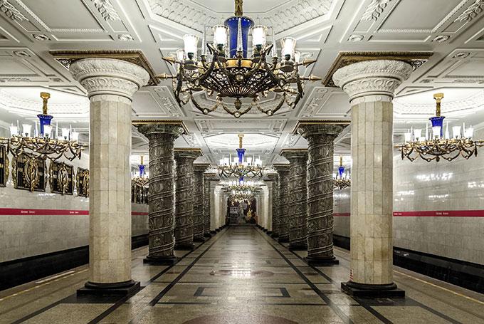 Avtovo station, St Petersburg © Alex Florstein