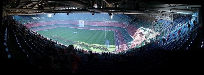 Millennium Stadium, Cardiff, Wales ©Alan / Flickr