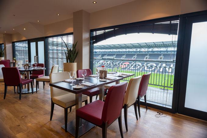 Doubletree Hilton, Milton Keynes, rugby stadium restaurant ©VisitEngland/DianaJarvis