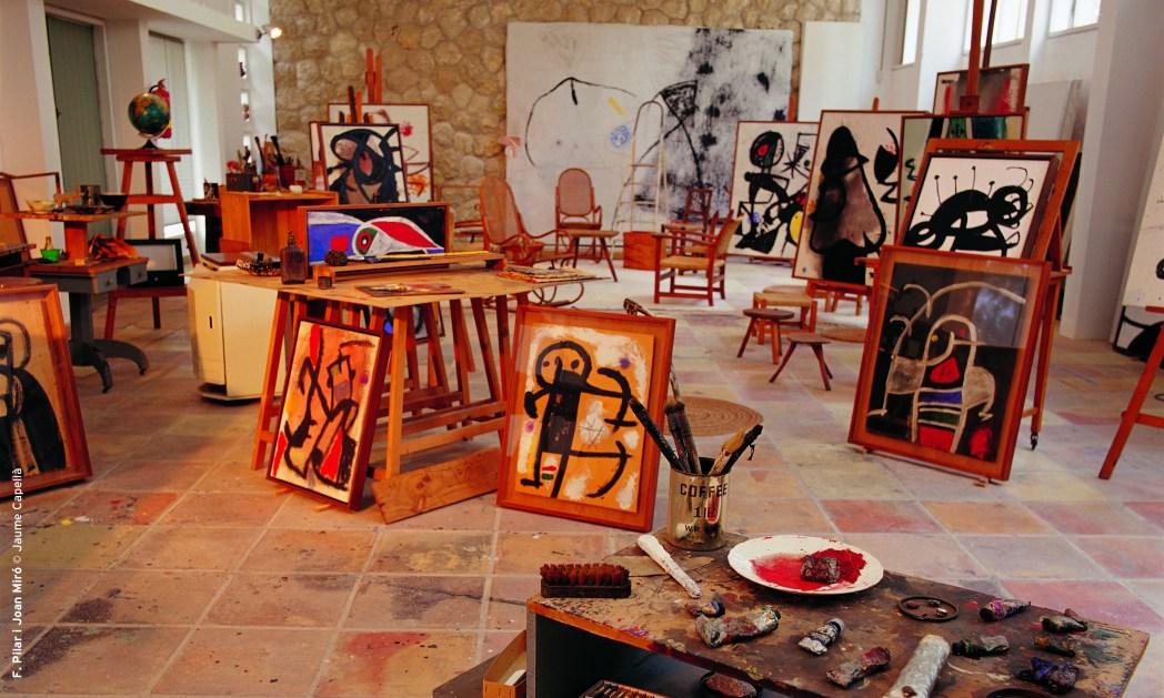 Fundació Pilar i Joan Miró is one of Mallorca's best museums