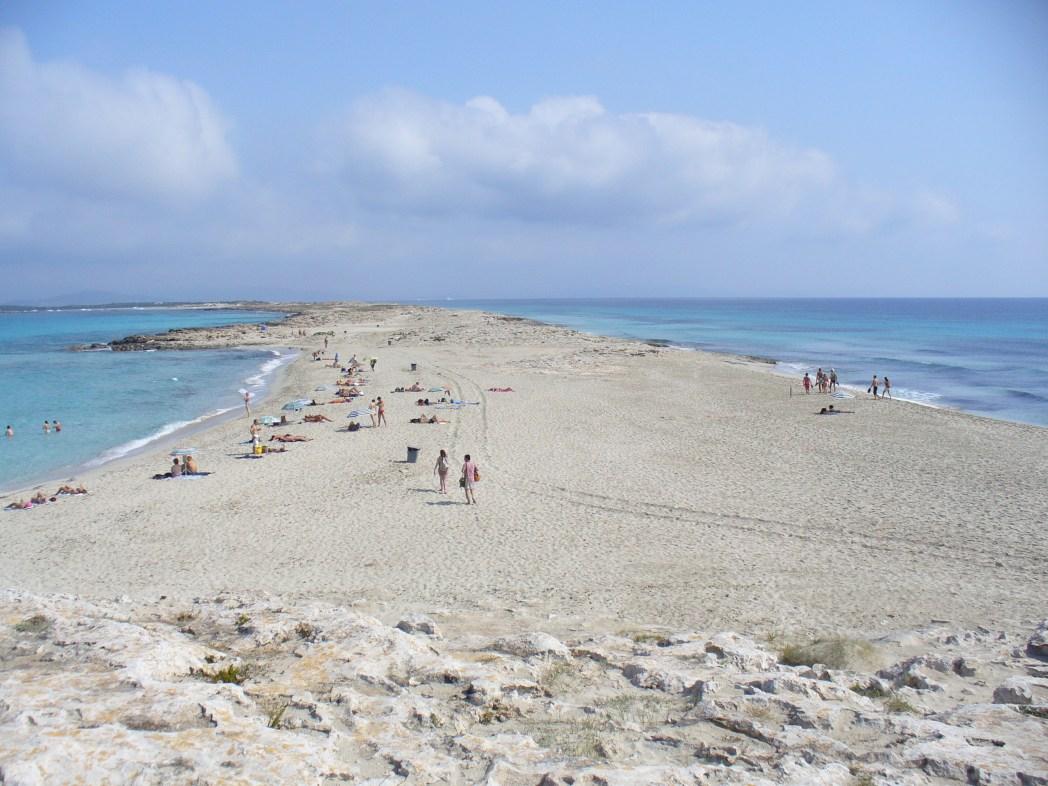 Playa Illetes, Formantera, Spain