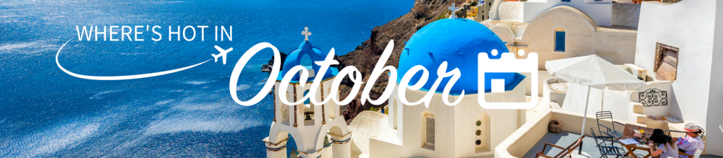 Where to go on holiday in October