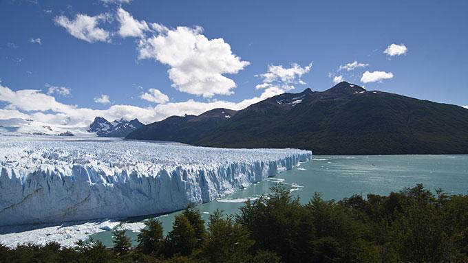 Los Glaciares National Park in southwest Santa Cruz province, Argentina