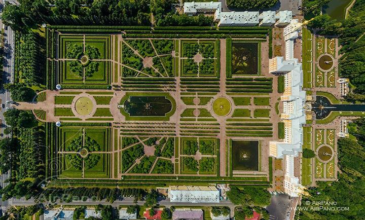 Upper Garden of Peterhof, St. Petersburg, Russia