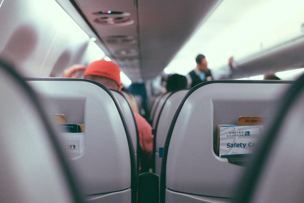 On board flight