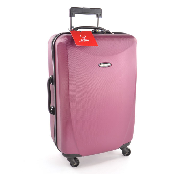 d9d208c73 Its four easy-glide wheels spin 360 degrees, it has two tough handles on  top and side of the case, central locking trolley system and telescopic  handle that ...
