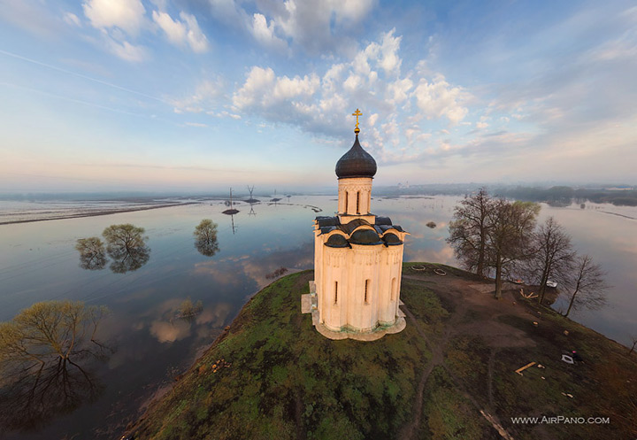 Church of the Intercession on Nerl, Russia