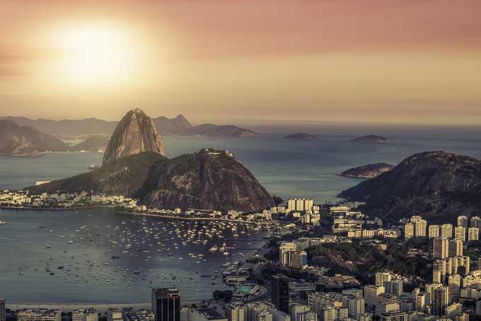 sunset, Rio de Janeiro