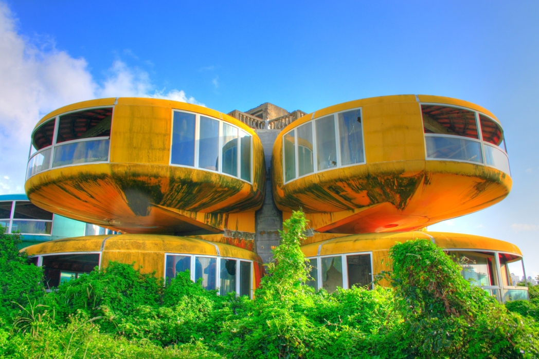 Taiwan's UFO houses