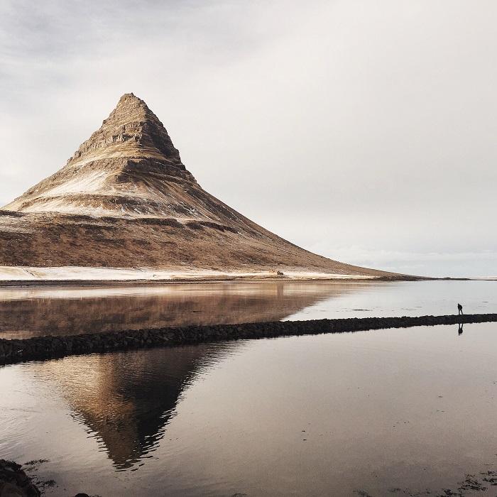 Kirkjufell  Mountain, Iceland.