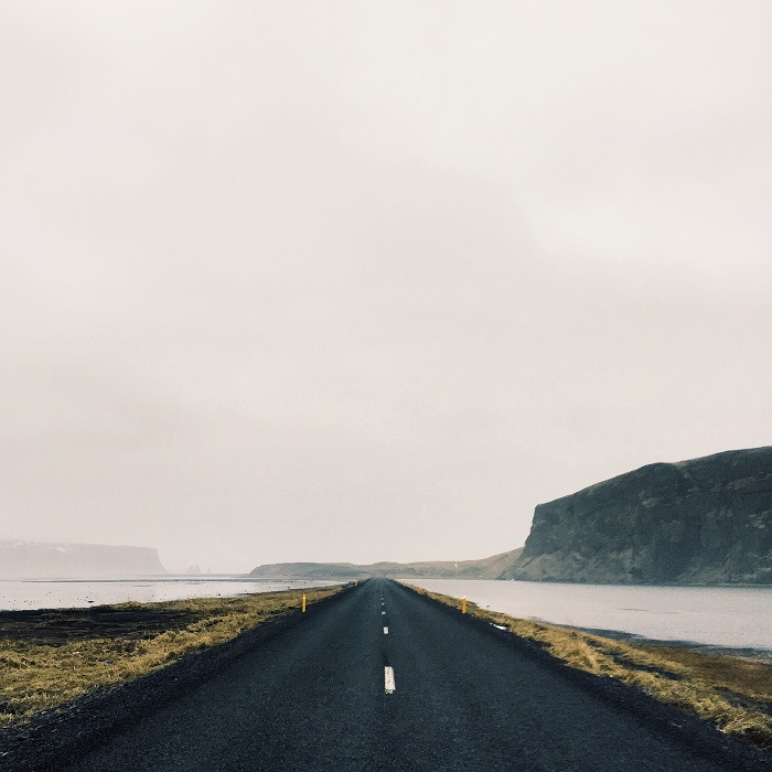 Route 218, Iceland.