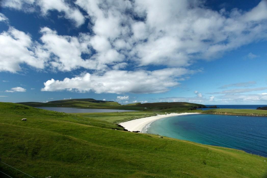 Spiggie Beach, Shetland