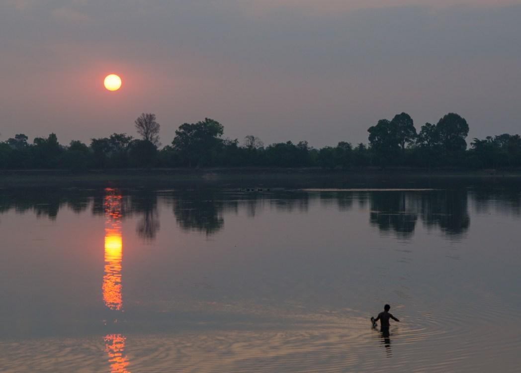 Srah Srang sunrise