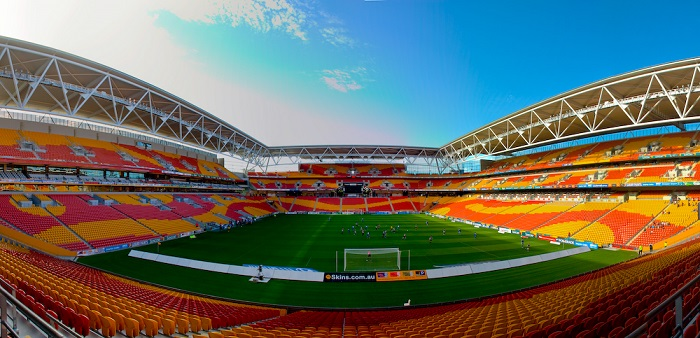 Suncorp Stadium, Brisbane, Australia ©Johnny Worthington / Flickr