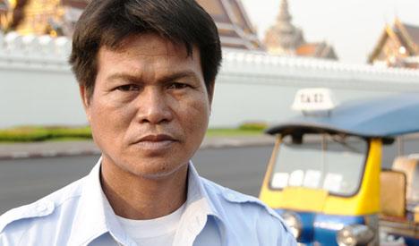taxi driver, Bongkok
