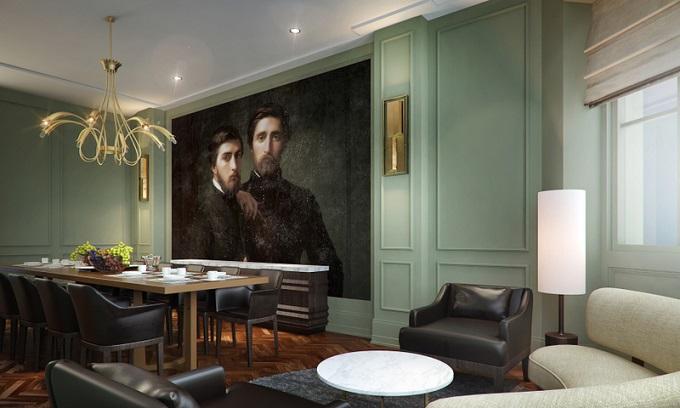 The Gainsborough Bath Spa Hotel, Bath, dining room ©VisitBritain