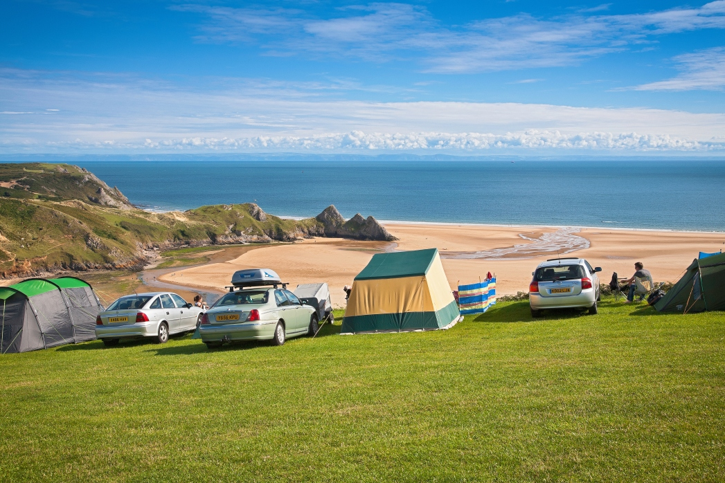 Three Cliffs Bay is one of the top beaches in Wales