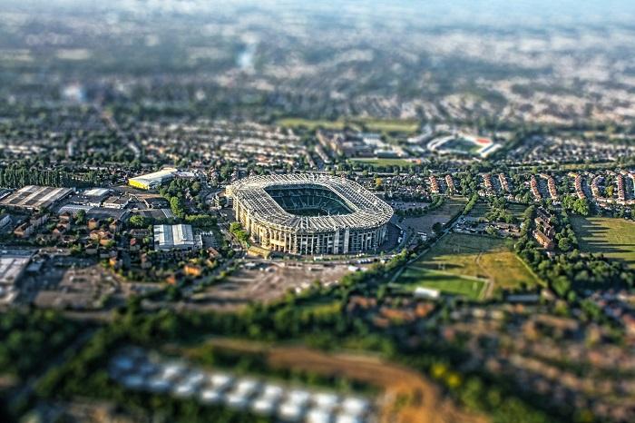 Twickenham rugby stadium, London ©Daniel Mennerich / Flickr