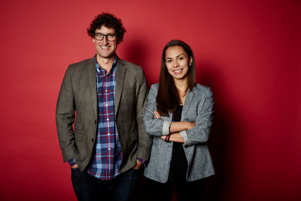 Madeline and John - Twizoo co-founders