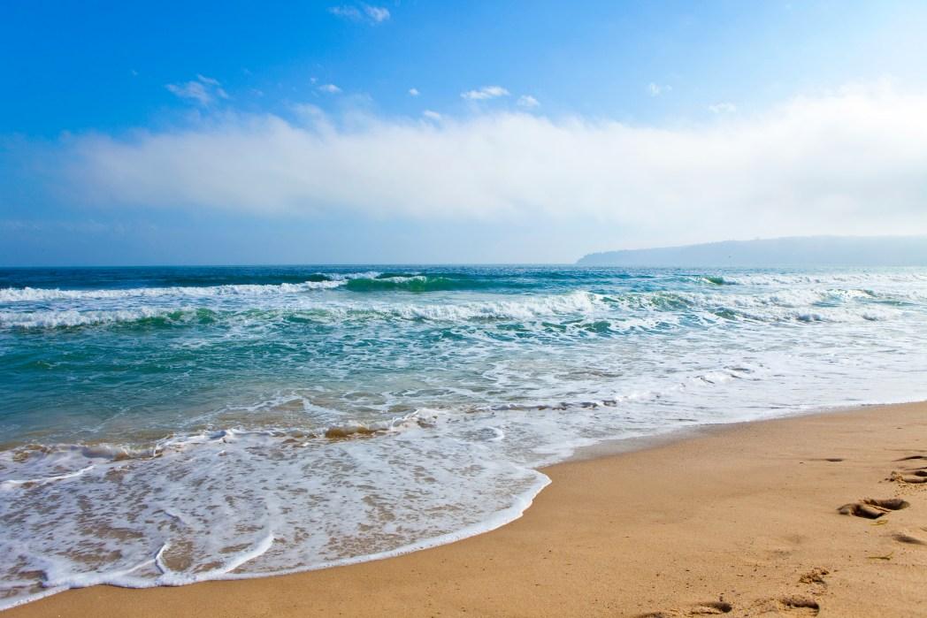 Varna Beach in Bulgaria